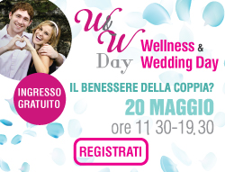 Scopri i workshop gratuiti del Wellness & Wedding Day del 20 maggio