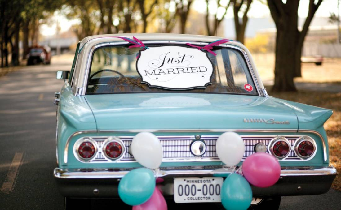 Auto: l'arrivo della sposa e 5 modelli fiammanti