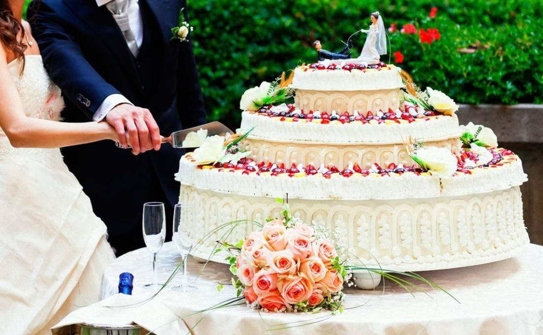 Applausi: entra in scena la wedding cake
