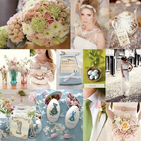 Sposarsi a Pasqua: idee per un goloso buffet