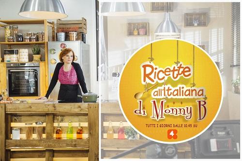 """Gli ingredienti segreti dell'amore in cucina? MonnyB direttamente dal programma di Rete 4 Mediaset """"Ricette all'italiana"""" li svelerà a Sposi In"""