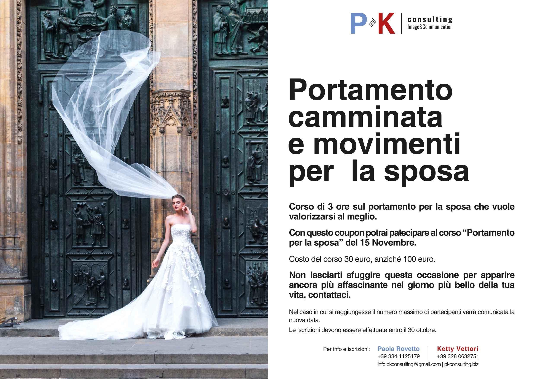 P&K Portamento e camminata della sposa