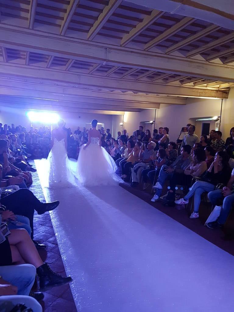 Immagine sfilata abiti da sposa